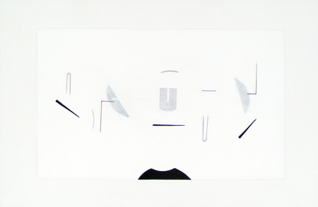 <strong><em>Untitled 25</em></strong>. Acrylic on canvas, 2 x 3 feet, 2007