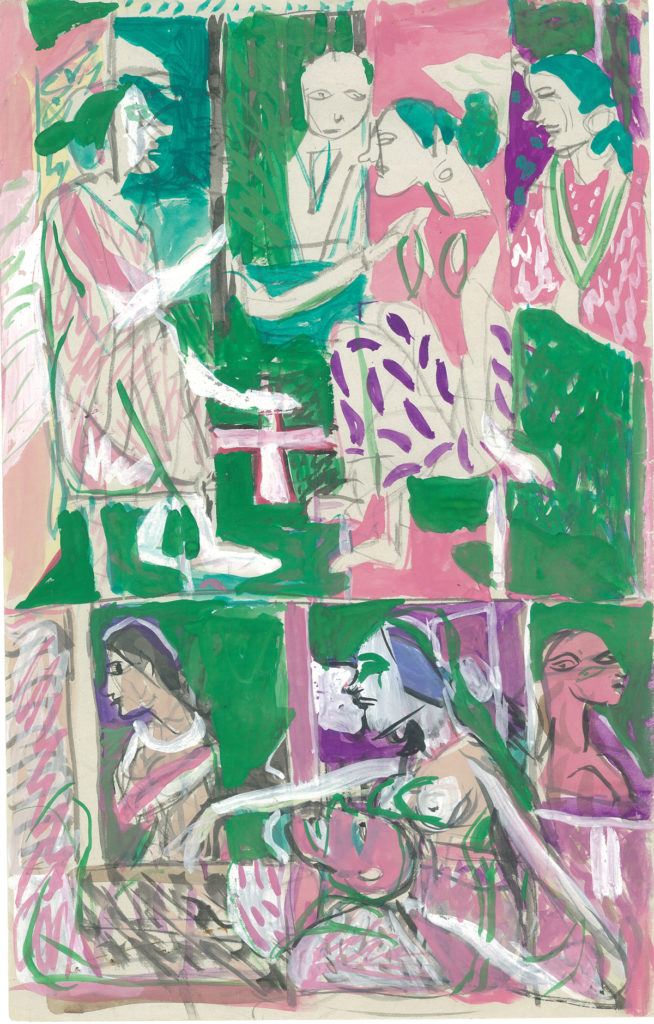 Watercolour on paper, 8.75 x 13.5 inches, 2003