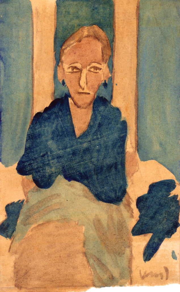 <em><strong>Untitled</strong></em>. Watercolour on paper 7 x 11.25 inches, 1987