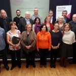 A selection of the delegates and speakers at the first ever Teaching Divided Histories Conference held at the Masonic Hall in Derry~Londonderry