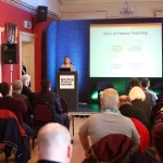 Dr Mary Gannon from CDETB offers her unique insight at the Teaching Divided Histories conference